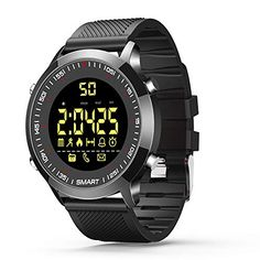 Offerta di oggi - Orologi intelligenti Bluetooth fitness tracker orologio da  polso per uomo donna orologi ec5fc53adde