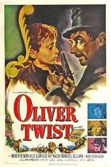 Oliver Twist 1948.  Another great David Lean picture, guess we have a theme going with three of his movies listed!