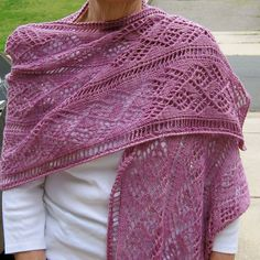 Ladder and Lace Light Wrap by Linda Lehman