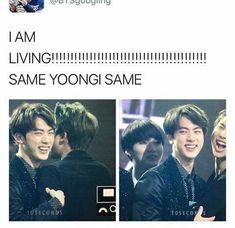 Same yoongi same. Namjin, Bts Jin, Bts Bangtan Boy, Bts Boys, 2ne1, Btob, Cypher Pt 4, Seokjin, Hoseok