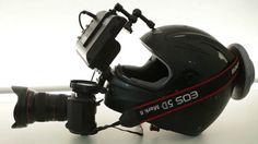 DIY POV Helmet for DSLR (or pick-up master kit) on Vimeo