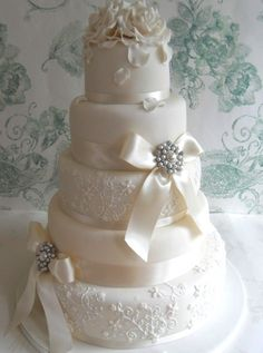 Vintage wedding cakes | Plan Your Perfect Wedding | Wedding dresses, planning tips, and the best real-life wedding inspiration