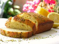 Lemon Loaf with Thyme and Pistachios…. | Foodness Gracious