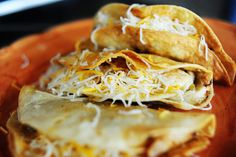 pioneer woman - fried chicken tacos