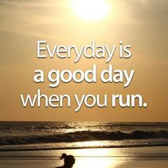 I am so excited to be re-excited about running..