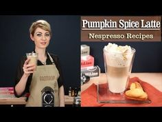 How to Make a perfect  Pumpkin Spice Latte with the Nespresso Machine - recipe by http://www.aromacup.com