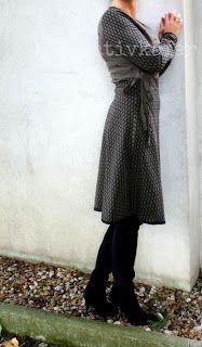 kreativkäfer: Mein neues Wickelkleid ♥
