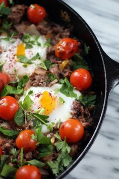 Braised Eggs with Lamb, Tahini and Sumac: Tasting Jerusalem