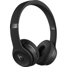 Beats by Dr. Dre Beats Solo3 Wireless Headphones Black MP582LL/A -... (€255) ❤ liked on Polyvore featuring accessories, tech accessories, beats by dr. dre and beats by dr dre headphones