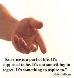 #Sacrifice
