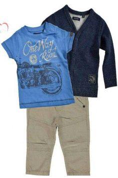 Top combi!#babykleertjes #babykleding #babyset#babyboy#babyclothes#motor www.babyvilla.nl
