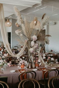 outside wedding reception Rustic Wedding Flowers, Flower Bouquet Wedding, Floral Wedding, Wedding Colors, Wedding Ideas, Round Wedding Tables, Wedding Table Settings, Rattan Basket, Floral Arch