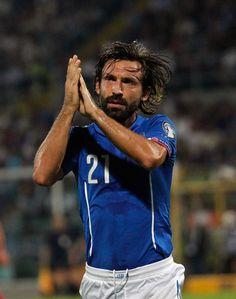 Andrea Pirlo Italy v Azerbaijan