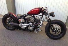 Bobber Inspiration | Harley-Davidson 1340 Springer bobber by Veles... | Bobbers and Custom Motorcycles