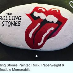https://www.etsy.com/listing/522505583/rolling-stones-painted-rock-paperweight?ref=shop_home_active_15.  #moonrocksart #paintedrocks #art #stones #rollingstones #music #rocknroll #etsy #etsyseller #rollingstoneslogo #moonrocks