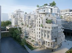 See the Innovative Urban Projects That Could Transform Paris   Architectural Digest
