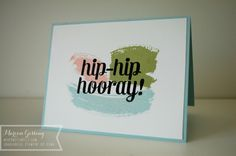 Stampin up; Work of Art, Bravo