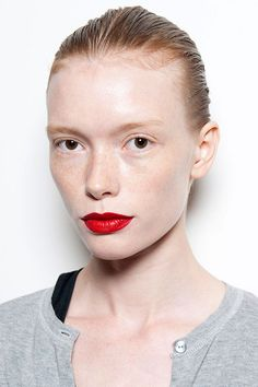 10 Spring Beauty Trends To Start Wearing NOW #refinery29  http://www.refinery29.com/spring-beauty-color-trends#slide-33  Red AlertSure, a red lip is always a classic. But if you've been nervous to give this high-impact hue a shot, consider swiping it on for spring. ...