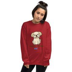 SILENTLY JUDGING YOU! Unisex Sweatshirt #FunnyTShirt #TShirt #SilentlyJudgingYou #CuteDog #Man #Unisex #Dog #Animal #Women