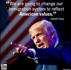 Legal, Vetted, immigration, benefits EVERYONE in every political party. It's a win win for ALL AMERICANS.