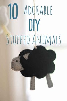 10 Adorable Stuffed Animals You Can DIY - BuzzFeed. The rhino bookend is super cute