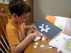 love2learn2day: Snowflake Symmetry (Geometry Class #2 Part 2, Fall 2010)