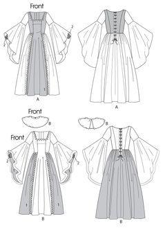 Renaissance Costume Italian And Patterns Pattern
