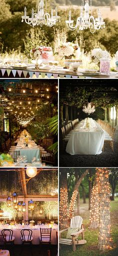 Ideas para iluminar tu boda
