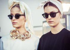 Giambattista Valli Couture 7 sunglasses provided by MOSCOT
