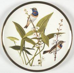 Franklin MintSongbirds of the World: Bluethroat - Artist: Arthur Singer