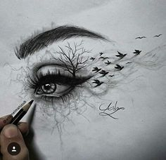 Yourstrulykitkat ♡ eye art, drawing sketches, sketches of eyes, drawing dra Eye Sketch, Drawing Sketches, Cool Drawings, Sketching, Drawing Tips, Colorful Drawings, Drawings Of Eyes, Drawing Pictures, Drawing Drawing
