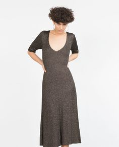Image 3 of FLARED DRESS from Zara