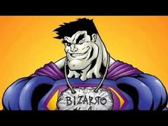 "BIZARRO is a fictional super villain appearing in comic books published by DC Comics. The character was created by writer Otto Binder and artist George Papp as a ""mirror image"" of Superman and first appeared in Superboy #68 (1958)."