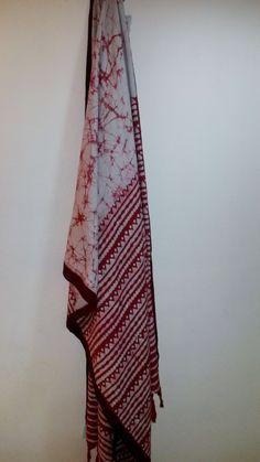 Indian Batik Dupatta