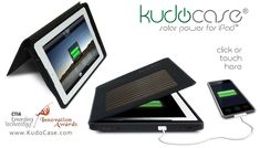 Solar iPad Case by Kudo!