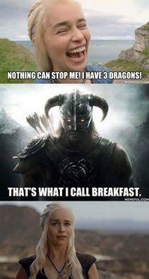 Skyrim vs Game of Thrones