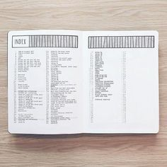table of contents bullet journal layout * table of contents bullet journal Bullet Journal Table Of Contents, Bullet Journal Index Page, How To Bullet Journal, Bullet Journal Inspo, Bullet Journal Spread, Bullet Journal Layout, Bullet Journal Ideas Pages, Journal Pages, Bullet Journals