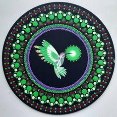 Mandala Dots, Mandala Painting, Decorative Plates, Canvas, Instagram, Pointillism, Drawings, Holy Spirit, Manualidades
