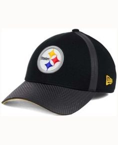New Era Pittsburgh Steelers Ref Fade 39THIRTY Cap - Black S/M