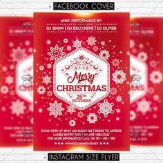 Christmas - Premium Flyer Template https://www.exclusiveflyer.net/product/christmas-premium-flyer-template/