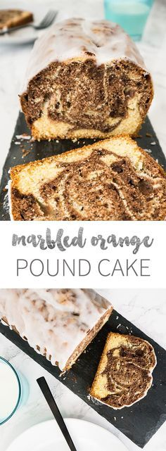 This easy and moist Marbled Orange Pound Cake is made from scratch with two…