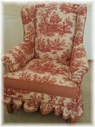 Luv Toile!........by cyndi's Re-Creations.
