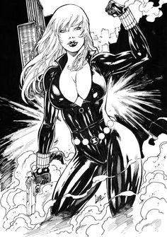 Black Widow by CaioMarcus-ART on @DeviantArt