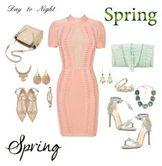 """""""Day to Night"""" by javall-bridges on Polyvore featuring Posh Girl, Alexandre Birman, Valentino, Michael Kors, Pippa Small, Kate Spade, Slate & Willow, Pilgrim and Alexis Bittar"""