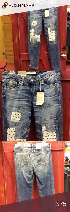 💖new listing Big star jeans. Funky little pair of big star jeans with an amazing fit. Kate ankle mid rise straight. Sold out except this little pair. Big Star Jeans Straight Leg