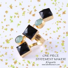 One piece statement maker! The Aquartz Ring at http://www.labelmansion.com/aqua.html #labelmansion #rings #newarrivals #statmentpiece #ootd #fashion #stylists #fashionbloggers #india #girls #women #shoponline #ecommerce