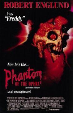 Phantom of the Opera (1989) poster