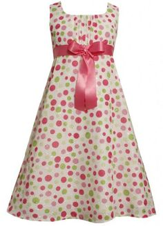 Size-14.5, Pink, BNJ-1783R, Pink and Green Bubble-Dot Print Bow Front Embroidered Eyelet Dress,Bonnie Jean Girl Plus-Size Special Occasion Party Dress Bonnie Jean,http://www.amazon.com/dp/B00CNCC7ZY/ref=cm_sw_r_pi_dp_XgjXrb00E1584890