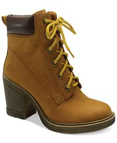 Dirty Laundry Remix Lace Up Booties - Shoes - Macy's