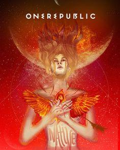OneRepublic Poster by Lizz Mc Elizabeth on CreativeAllies.com